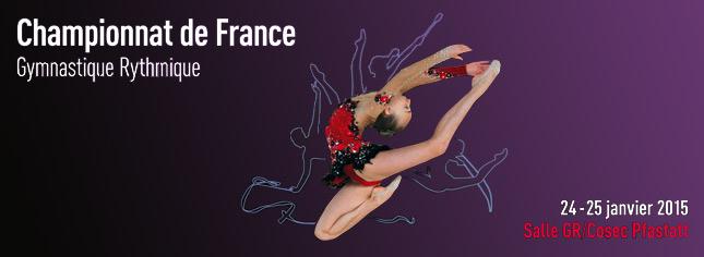 Championnat de France Individuelles GR - Pfastatt - 24/25 Janvier 2015