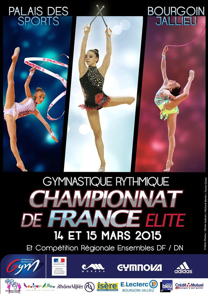 Championnat Rhône-Alpes GR Ensembles DF/DN  et Elite GR - Bourgoin-Jallieu