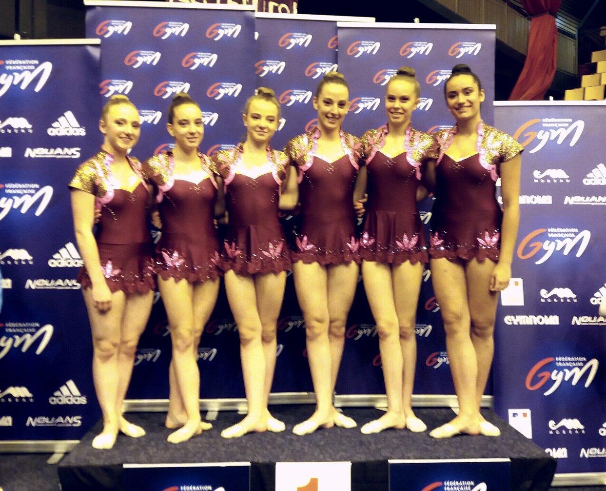 Championnat de France des équipes et ensembles GR - Clermont-Ferrand 22/23 mai
